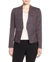 Dark Purple Tweed Jacket