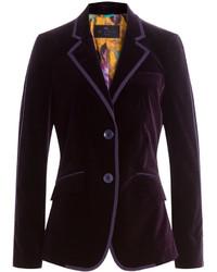 Velvet blazer medium 722489