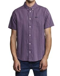 RVCA Shuffle Stripe Woven Shirt