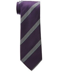 Dark Purple Vertical Striped Tie