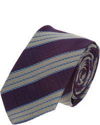 Jil Sander Diagonal Stripe Tie
