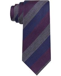 Kenneth Cole Reaction Naples Stripe Slim Tie