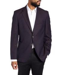 BOSS Fit Solid Wool Sport Coat