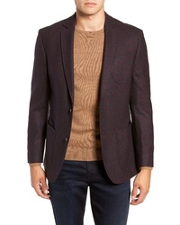 FLYNT Regular Fit Wool Blend Sport Coat
