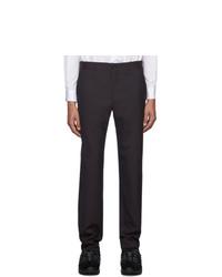 Comme Des Garcons Homme Plus Purple Tropical Wool Trousers