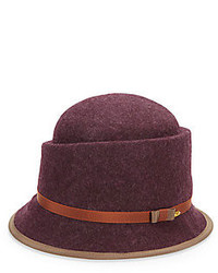 Saks fifth avenue margaret wool cloche medium 157502