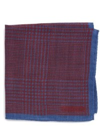 Michael Bastian Michl Bastian Grid Pocket Square