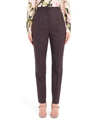 Dolce & Gabbana Stretch Wool Skinny Pants