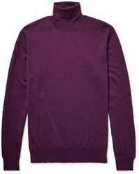 Lanvin Merino Wool Rollneck Sweater