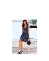 Denim skater dress original 9716478