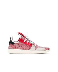 Deportivas en rojo y blanco de Adidas By Pharrell Williams