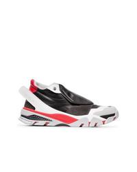 Deportivas en rojo y negro de Calvin Klein 205W39nyc