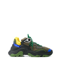 Deportivas verde oliva de N°21