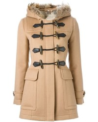 Duffel-coat brun clair Burberry