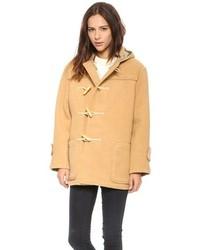Duffel-coat brun clair