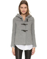 Duffel-coat gris Paul & Joe Sister