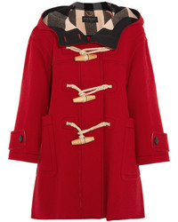 Duffel-coat rouge Burberry