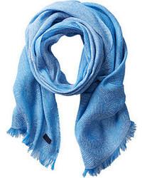 Écharpe bleu clair Hugo Boss