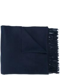 Écharpe bleue marine Max Mara