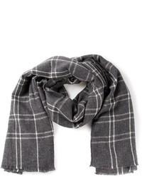 Écharpe écossaise grise foncée Burberry  Où acheter et comment porter 4988c459f6b