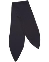 Écharpe en soie bleue marine Chloé