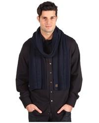Écharpe en tricot bleu marine Goorin Bros.