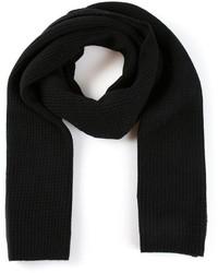 Écharpe en tricot noire Vince