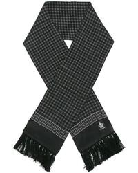 Écharpe imprimé noir Dolce & Gabbana