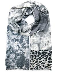 Écharpe imprimée grise Louis Vuitton  Où acheter et comment porter 5102ea6737b