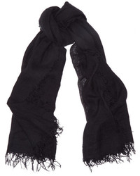 Écharpe noire Chan Luu