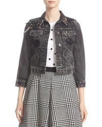 Embellished denim jacket original 4603477
