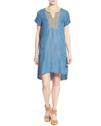 Embroidered casual dress original 1392626