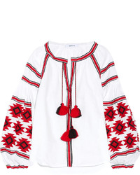 Embroidered peasant blouse original 9703854