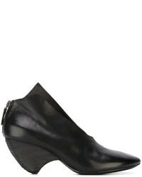 Escarpins en cuir noirs Marsèll