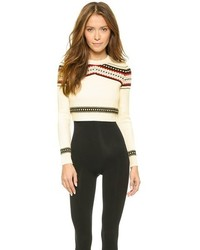 Fair isle crew neck sweater original 1332050