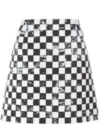 Falda a Cuadros Negra de Marc Jacobs