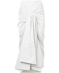 Falda blanca de Jil Sander
