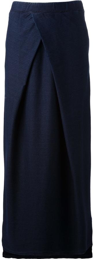 Falda campana azul de Maison Martin Margiela