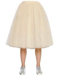 Falda campana de tul blanca de Golden Goose Deluxe Brand