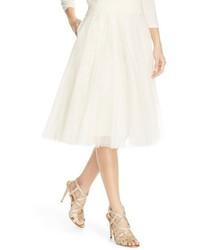 Falda campana de tul blanca de Jenny Yoo
