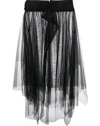 Falda campana de tul negra de Y's