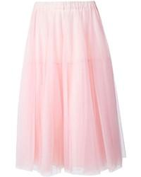 Falda campana de tul rosada de P.A.R.O.S.H.