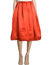 Falda campana roja de Stella McCartney