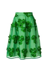 Falda campana verde de P.A.R.O.S.H.