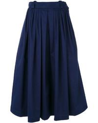 Falda de lana azul marino de Golden Goose Deluxe Brand