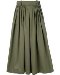 Falda de lana verde oliva de Golden Goose Deluxe Brand