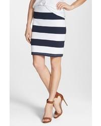 20e924676 Comprar una falda de rayas horizontales en blanco y azul: elegir ...