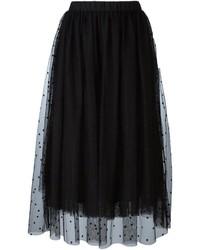 Falda de tul negra de Twin-Set