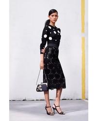 Falda Lápiz de Encaje Negra de Dolce   Gabbana  dónde comprar y cómo ... a3c1adaa552c