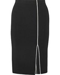 Falda lápiz de punto negra de Rag & Bone